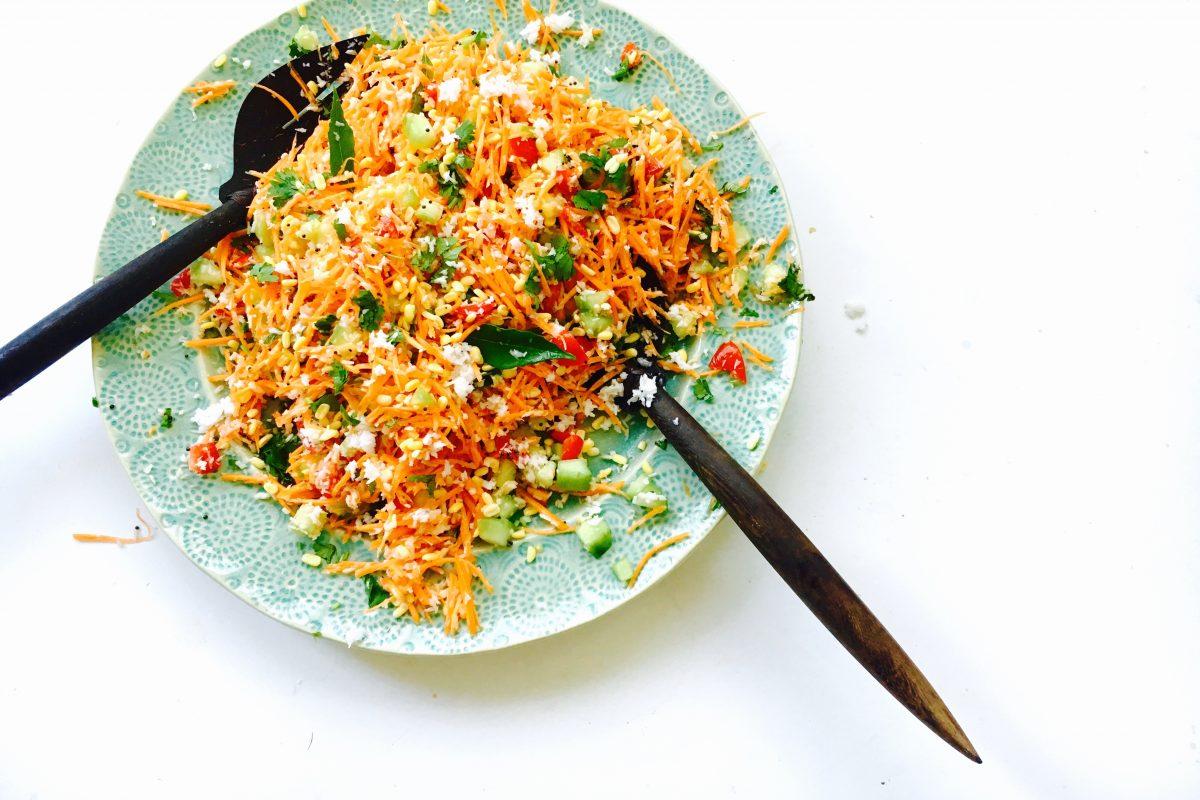 Hesaru-Bele-Carrot-Kosambri-ChitChaatChai
