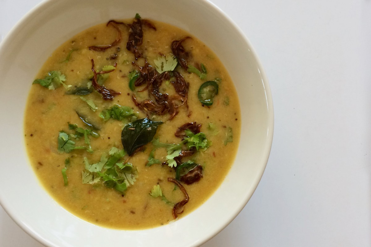 Coconut-y Summertime Daal #chitchaatchai