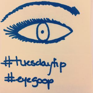 Tuesday Tip # 1 #Eye Goop #chitchaatchai