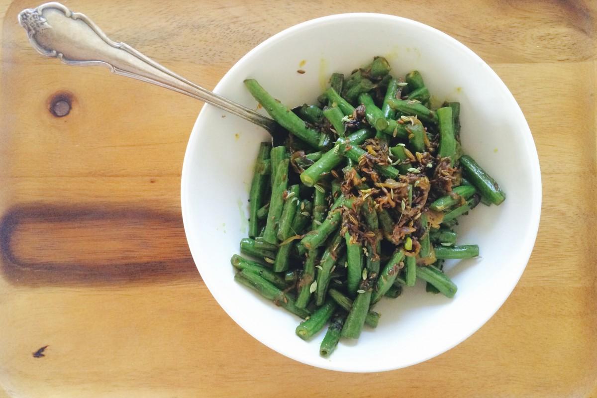 5 Spices & a Veggie, an 'Ayurvedic' Stir-Fry