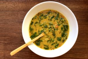 Simply Delicious Daal II with Spinach #chitchaatchai