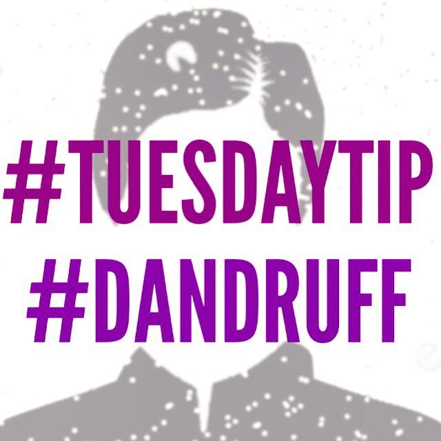 Tuesday Tip # 16: Dandruff #chitchaatchai